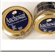 Product made from anchovies, which gives it its peculiar and intense flavor. Anchoviar