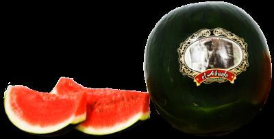 Seedless watermelon.