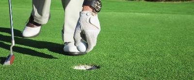 Artificial grass for golf