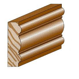 Moulding for decoration, construction and furnishing.