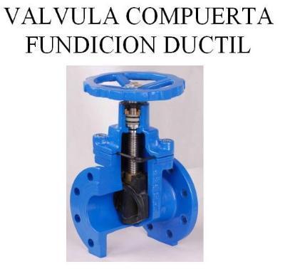 Water-gate valve.