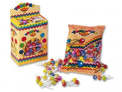Round lollipops