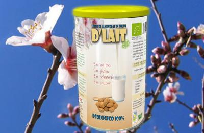 Almonds powdered milk