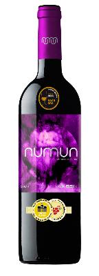 NUMUN SYRAH. Red wine elaborated from Syrah grapes carefully selected grapes harvested during night.
