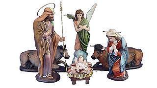 Nativity Scenes.