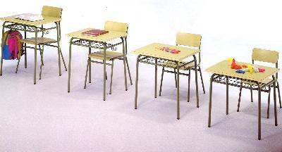 Furniture for teaching various sizes.