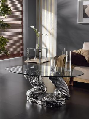 Coffee table model PERLA 120X70X48 cms.