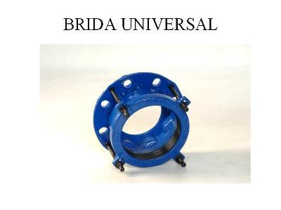 Universal flanges.