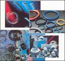O-ring seal, of stem, of piston.