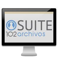 Suite 102 Archivo. Software for the management of libraries.