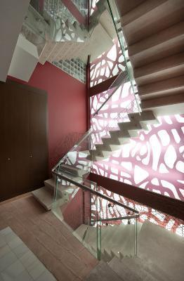 Staircase detail Edificio Los Carlos