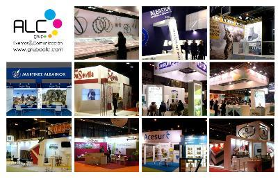 Design and construction of exhibition stands.