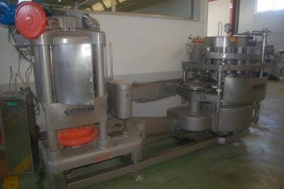 Angelus 40P filling and seaming group