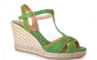Lady jute shoes before, model spring / summer KV0559