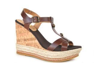 Lady jute shoes, model spring / summer KV2201 Vaqueta