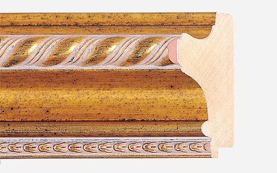 Wood mouldings for pictures frames and mirrors