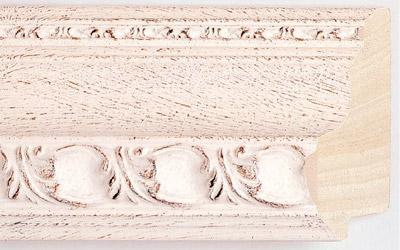 Wood molding for making picture frames and mirrors