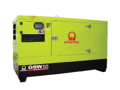 Generator Soundproof and Open