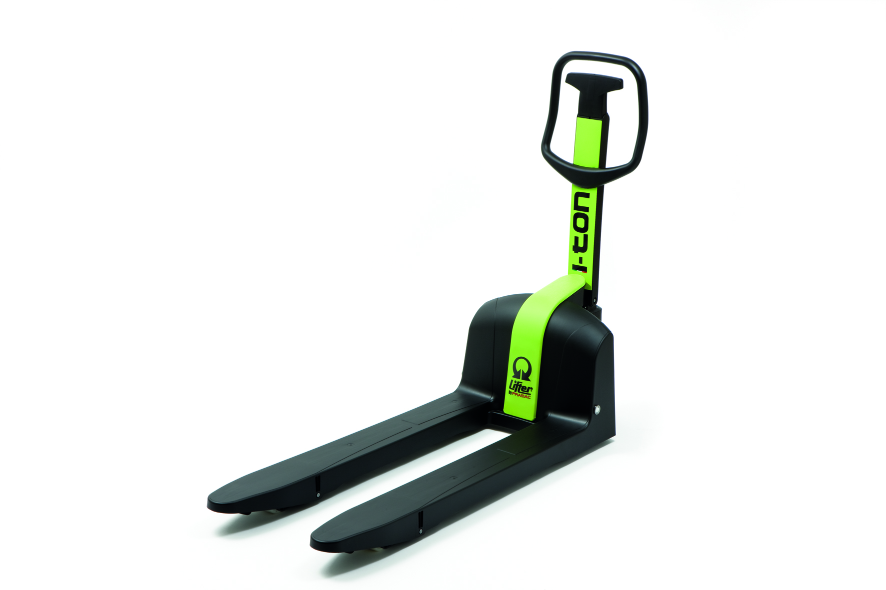 i-Ton Pallet Truck made of Ultra Light and Resistant Plastic