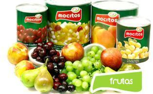 Canned fruits and