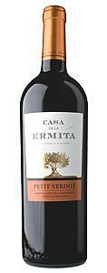 Petit Verdot. Vintage Red Wine