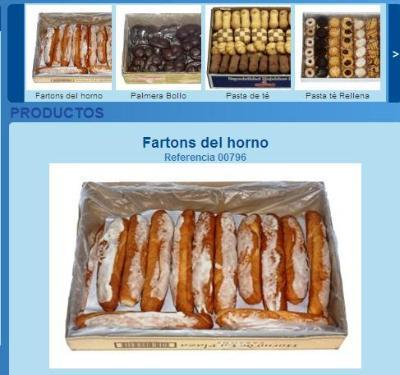 Oven fartons