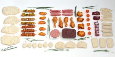 Processed poultry meat