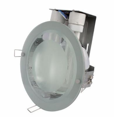 Circular aluminum downlight
