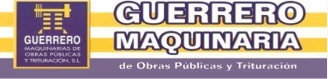 GUERRERO MAQUINARIA OBRAS PÚBLICAS Y TRITURADOS, S.L.