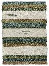 Hand-woven cotton rugs. Short pile.