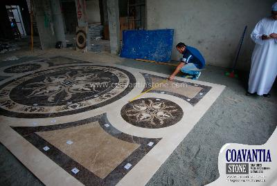 Cut to size & waterjets marble for projects,