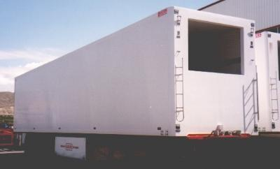 Chassis for refrigerated trailers