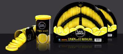 Canned cut lemons