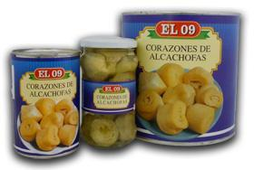 Hearts distitntos alcachohas canned formats