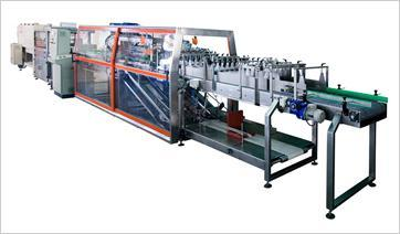Trays forming machine