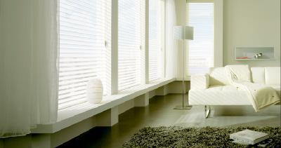 Curtains, Roman blinds, roller blinds