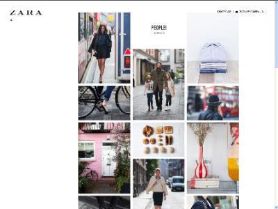 Marketing fashion garments for men, women and children