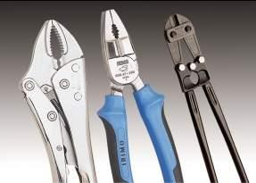Pliers and nippers