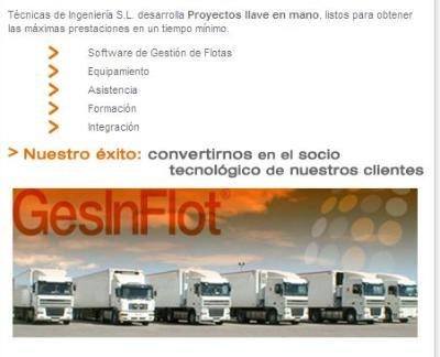 Technology specialized in the development and integration of the transport sector