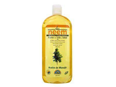 Massage oil, activates blood circulation and balances the energy system