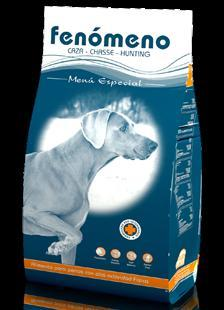 Food for dogs with high physical activity