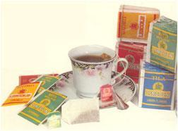 Infusions different: chamomile tea, pennyroyal, etc..