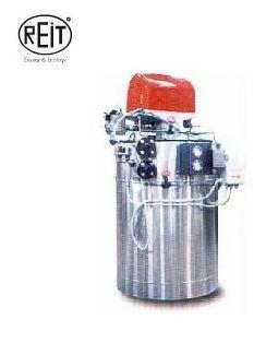 Oil boiler: Three step gas generator