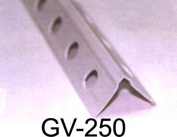 Galvanized steel profile for the building sector