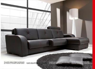 Sofa with chaise-longue