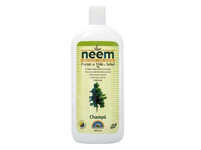 Neem shampoo: maintains the balance of the scalp