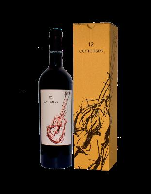 12 Compases. Red wine