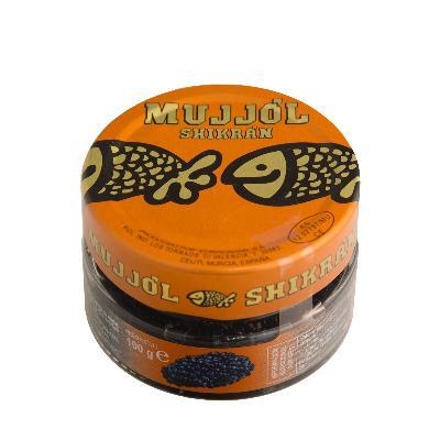 Caviar (roe mullet, herring and salmon)