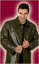 Leather clothing for men