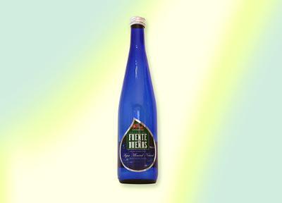 0,75 liter bottled water